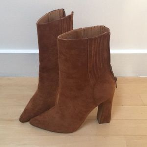 Forever 21 Suede Ankle Boots